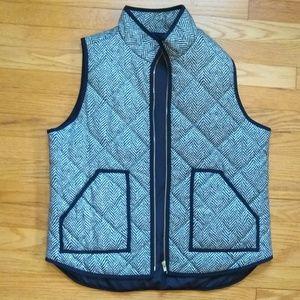 NWOT J.Crew Herringbone Vest